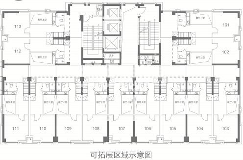荣盛华府2区·玖珑院户型图