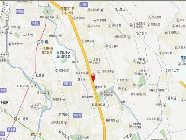SM锦悦交通图