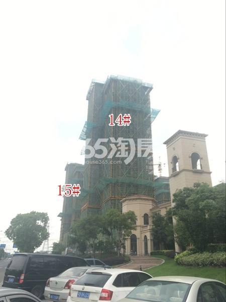 长泰国际社区高层14#、15#楼实景图(2017.10 摄)