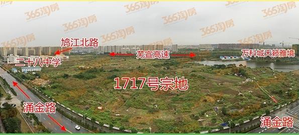 南京大发1717号宗地实景图