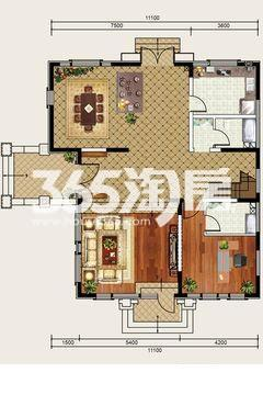 融科伍杄岛4室2厅1厨2卫