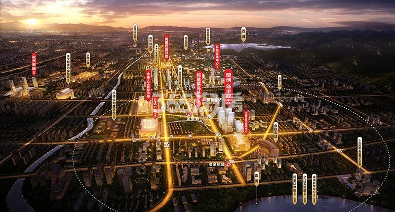 星创新里程中心交通图