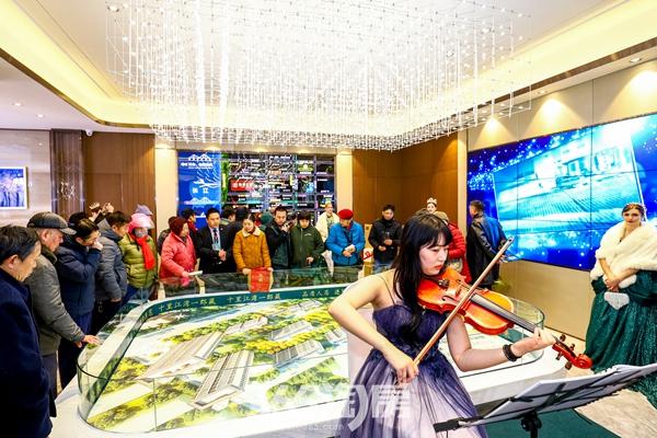 怡康江郡|营销中心开放|沙盘
