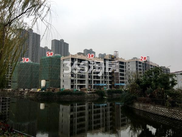 苏宁悦城四期2#、3#、5#、7#楼洋房工程实景(2017.11摄)
