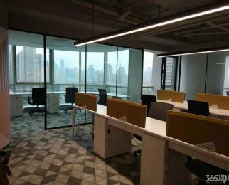 上海路地铁口 精装修 全套办公家具指接办公 照片实图 看