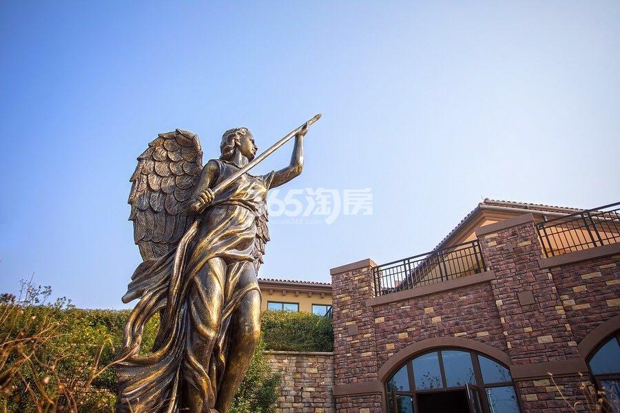 正源尚峰尚水联排别墅实景图(4.23)