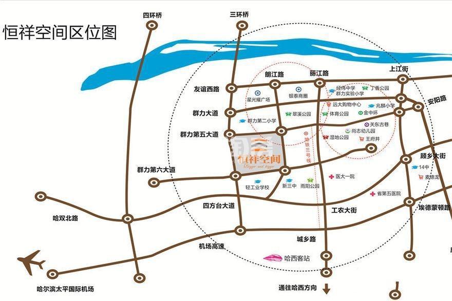 恒祥枫丹郡交通图