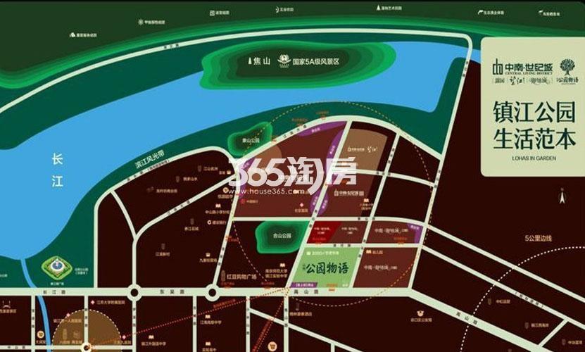 中南公园物语交通图