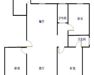 金紫荆 唐人中心 大三室 送储藏室