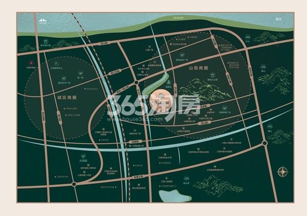 香樟公馆交通图
