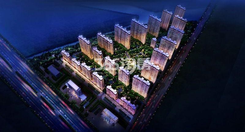 尚东辉煌城效果图