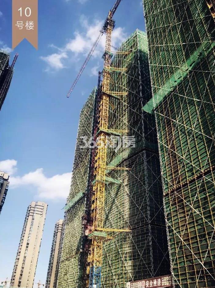 2018年9月融信公馆ARC高层10号楼(地名幢号)实景