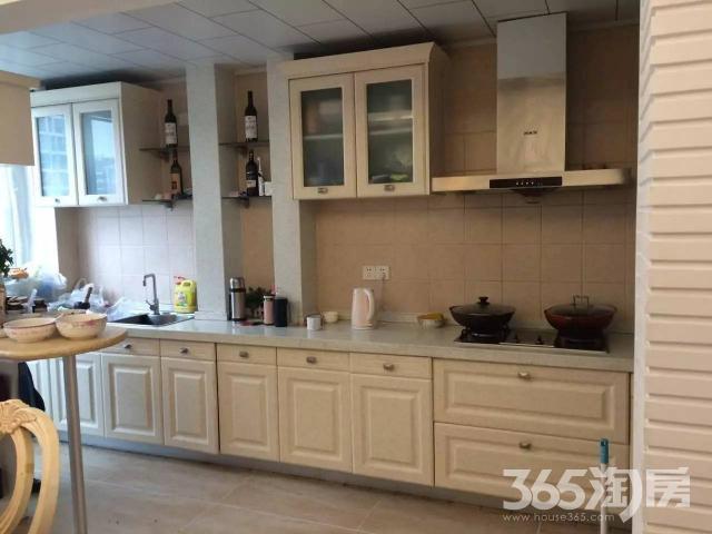 望湖城福桂苑精装三房欧式风格装修开放式厨房仅此一套
