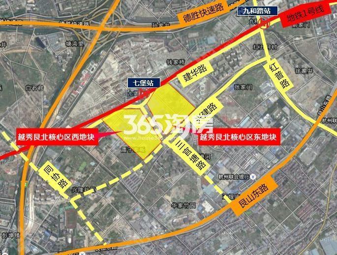 越秀招商云悦湾交通图