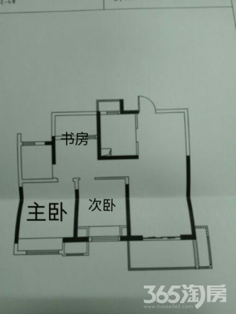 长租华润国际社区3室2厅1卫88平米整租毛坯