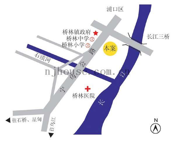 圣源新居交通图