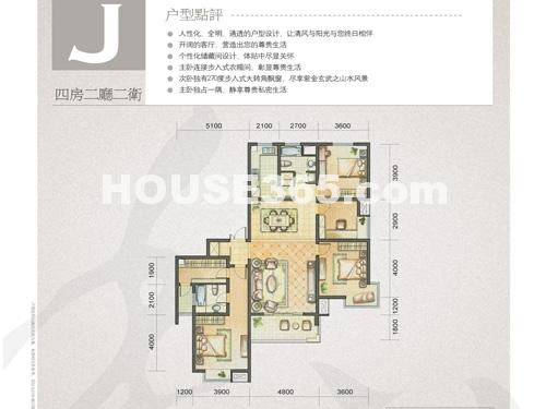 凤凰国际大厦户型图