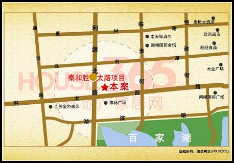 泰和胜太路项目交通图