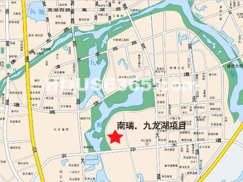 南瑞·九龙湖项目交通图