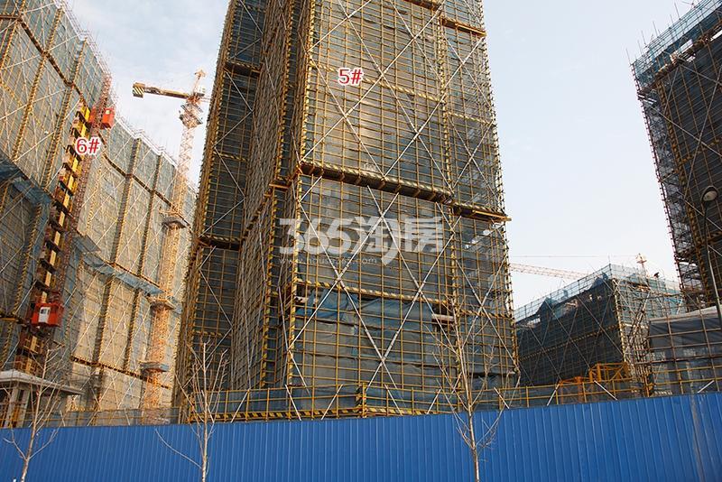 中国铁建西湖国际城高层5、6号楼实景图(2018.1)