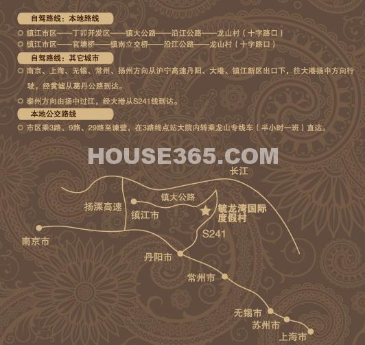 毓龙湾国际度假村交通图