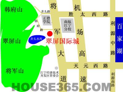 翠屏国际城交通图