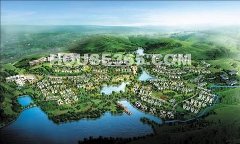 森湖溪谷效果图