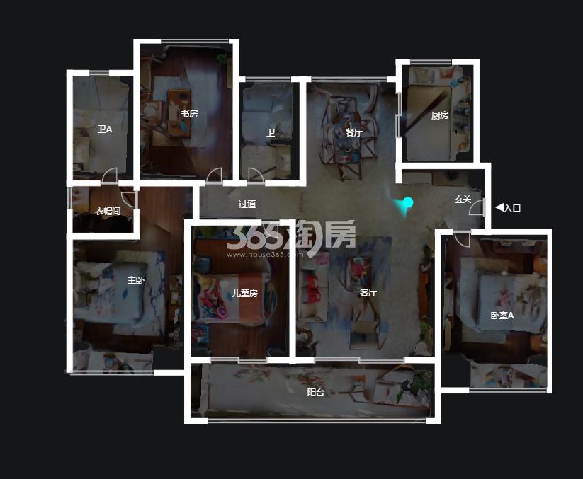 锦绣观邸户型图