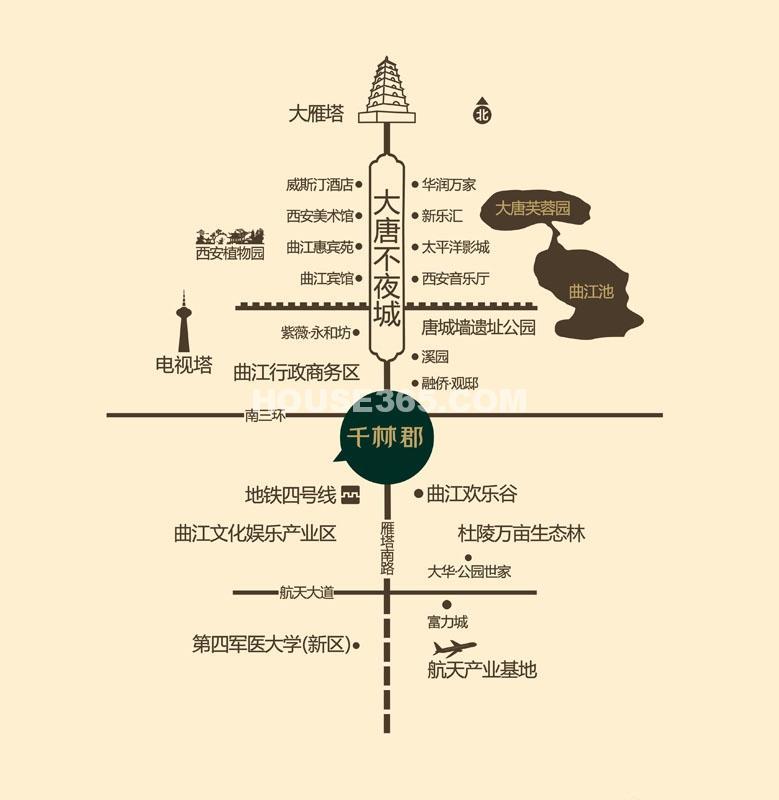 曲江千林郡交通图