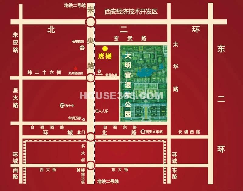 唐樾交通图