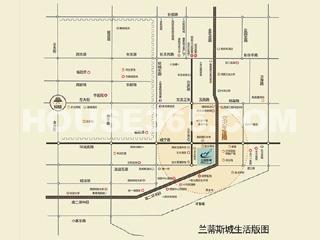 兰蒂斯城交通图