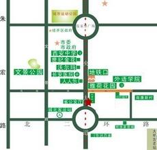盛龙广场交通图