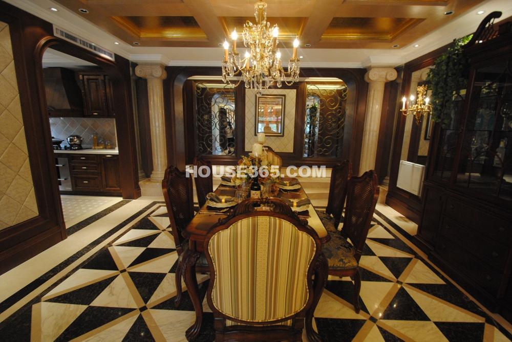 E户型506平方米样板间 餐厅(6.25)