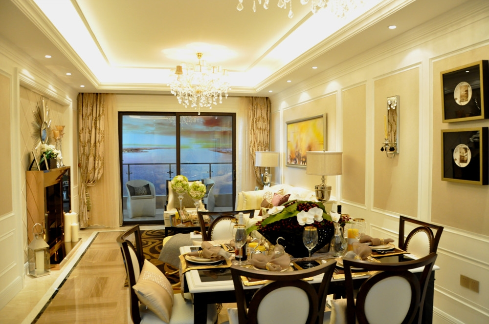140平方米样板间—客厅