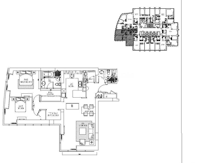 新地国际公寓苏寓2#