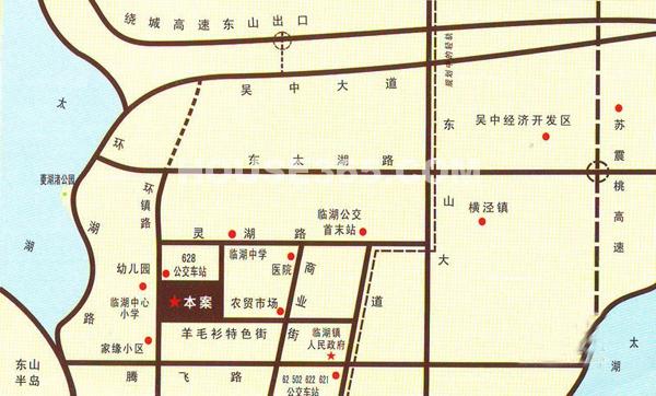 鞍山东山风景区地图