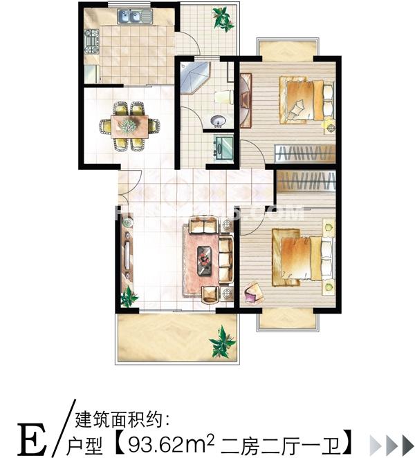 上海城新天地家园户型图