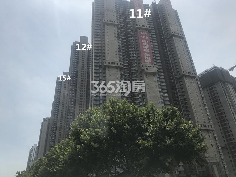 世茂外滩新城11、12、15#进展图(4.21)
