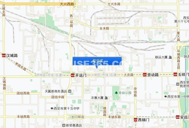 紫云溪交通图