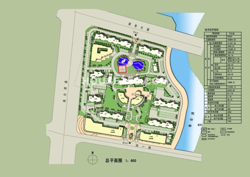 上海裕花园六号楼皇合并户型平面图