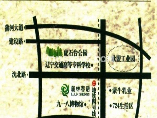 麓林春语交通图