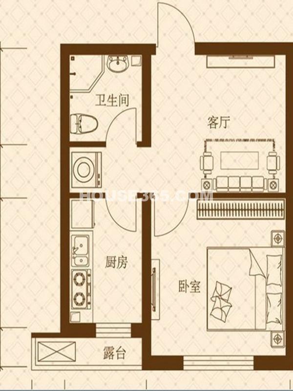 泰荣湾户型图