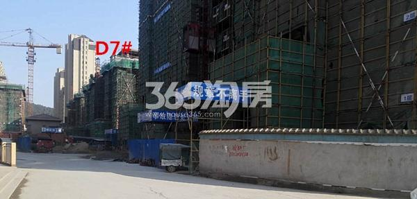国基逸境在建7#楼洋房实景图(3.14)