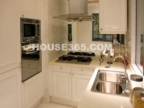 世茂香槟湖样板房188平米样板房别致厨房