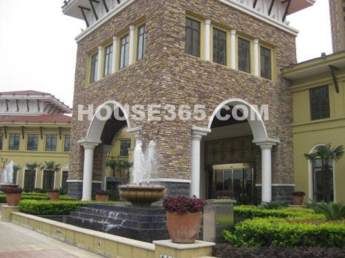 九洲豪庭院别墅风格