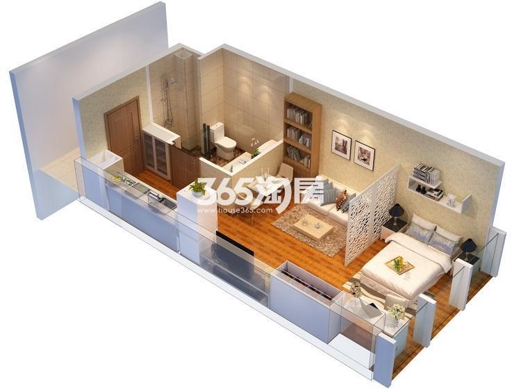 津西新天地5.98挑高公寓户型