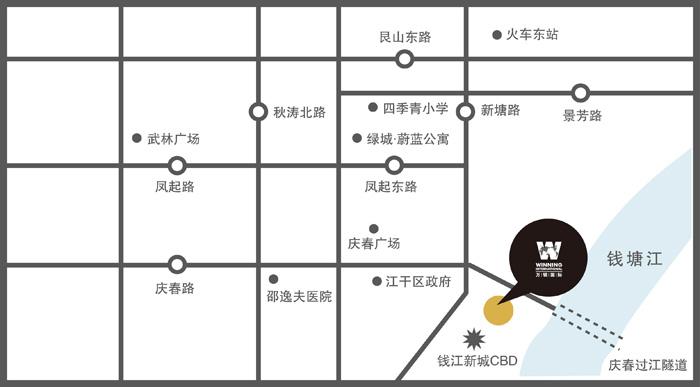 万银国际交通图