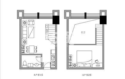 斯瑞天寓户型图