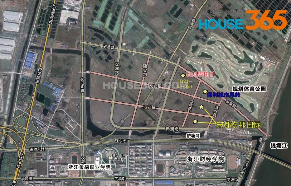 杭州碧桂园交通图
