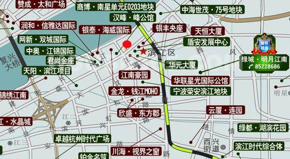 东和时代交通图